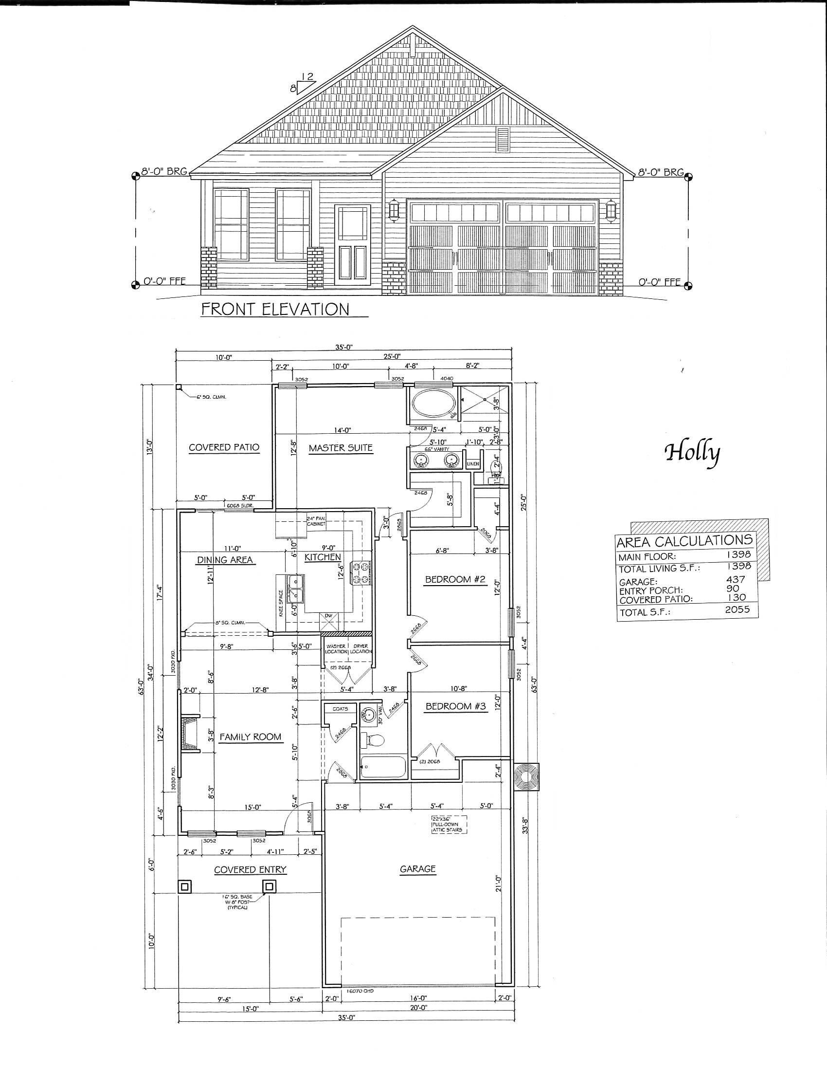 holly floorplan